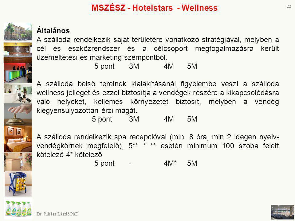 MSZÉSZ - Hotelstars - Wellness