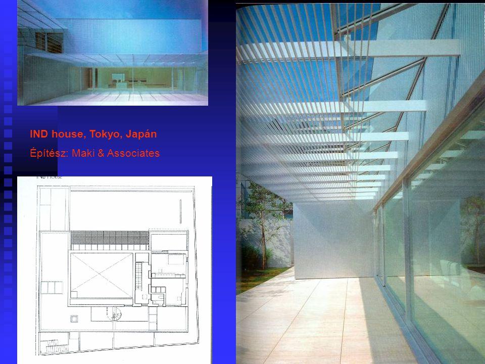 IND house, Tokyo, Japán Építész: Maki & Associates