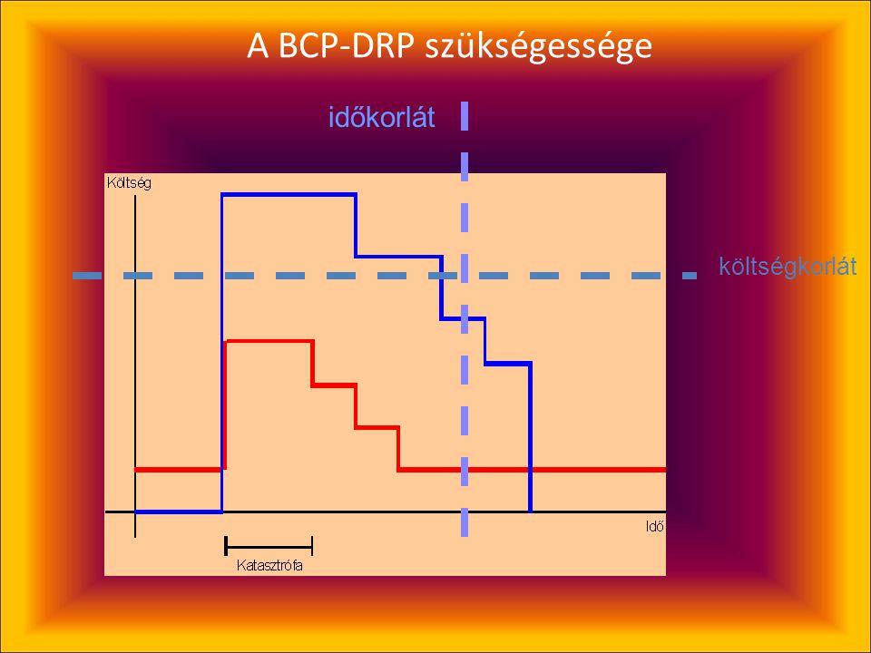 A BCP-DRP szükségessége