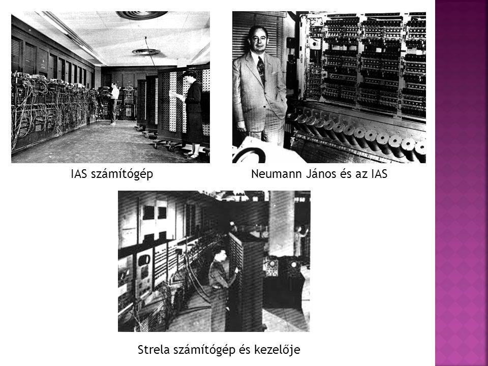 Strela számítógép és kezelője