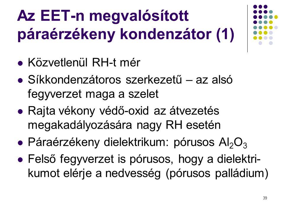 Az EET-n megvalósított páraérzékeny kondenzátor (1)