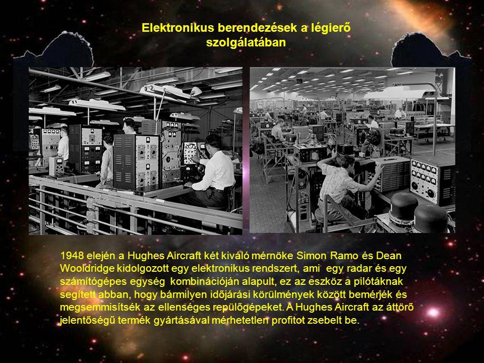 Elektronikus berendezések a légierő szolgálatában