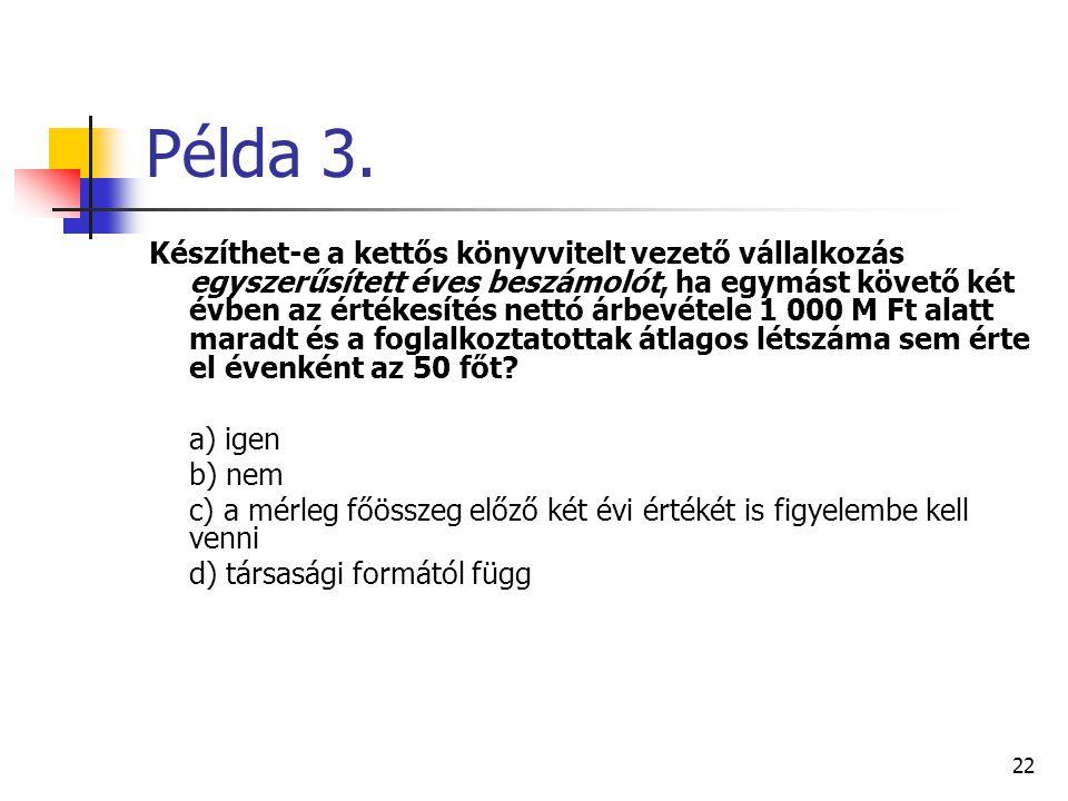 Példa 3.