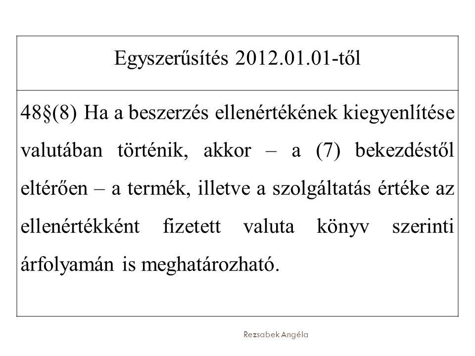 Egyszerűsítés 2012.01.01-től