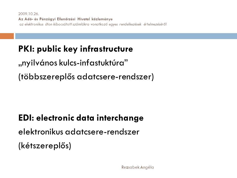 2009.10.26. Az Adó- és Pénzügyi Ellenőrzési Hivatal közleménye az elektronikus úton kibocsátott számlákra vonatkozó egyes rendelkezések értelmezéséről