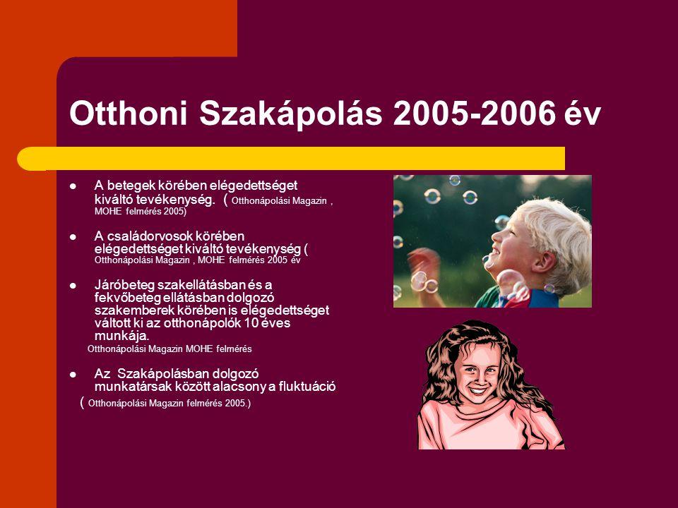 Otthoni Szakápolás 2005-2006 év