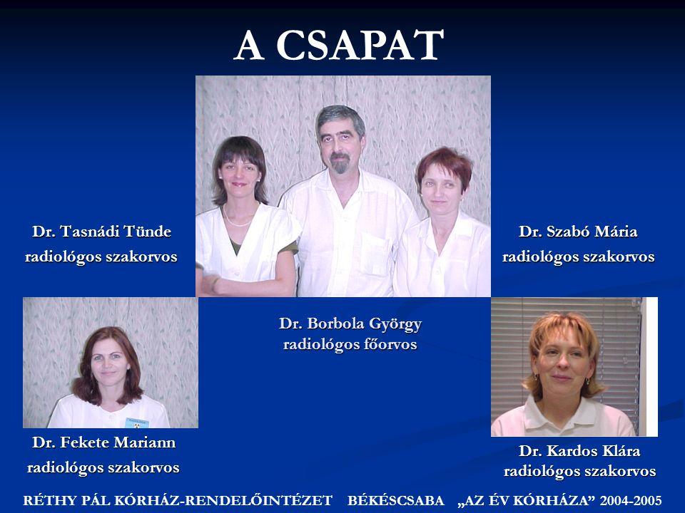 Dr. Borbola György radiológos főorvos