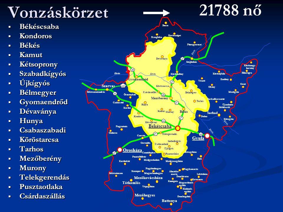 21788 nő Vonzáskörzet Békéscsaba Kondoros Békés Kamut Kétsoprony
