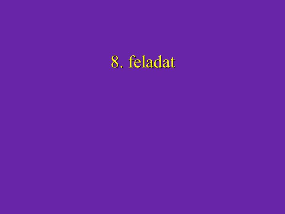 8. feladat