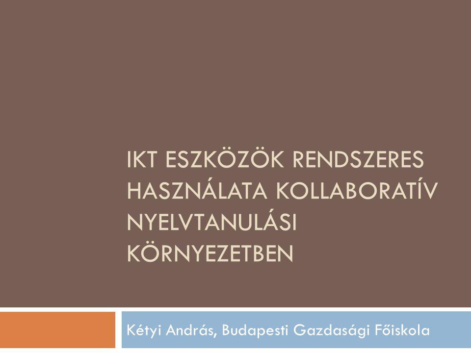 Kétyi András, Budapesti Gazdasági Főiskola