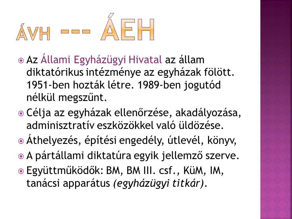 ÁVH --- ÁEH