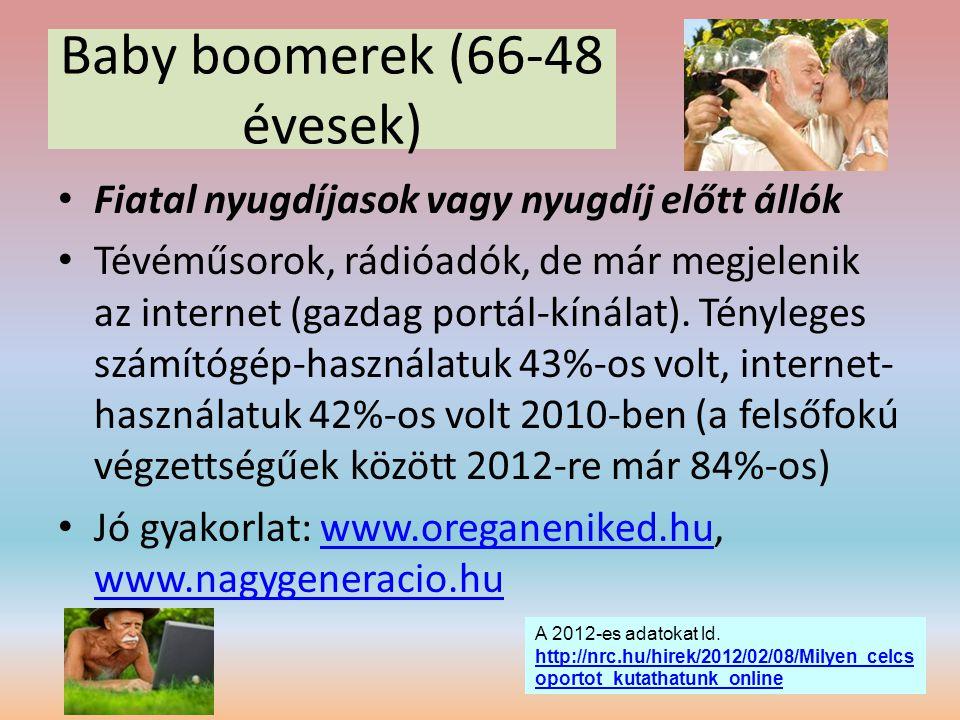 Baby boomerek (66-48 évesek)