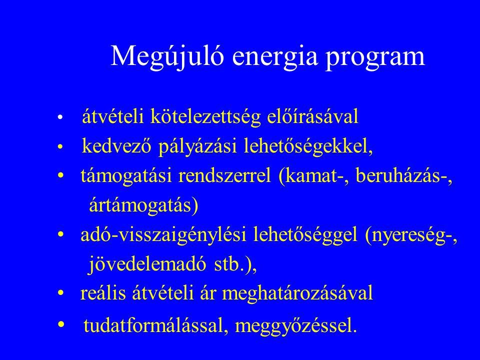 Megújuló energia program