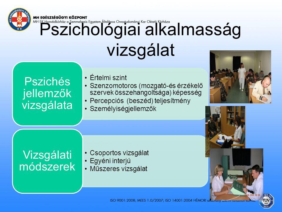 Pszichológiai alkalmasság vizsgálat