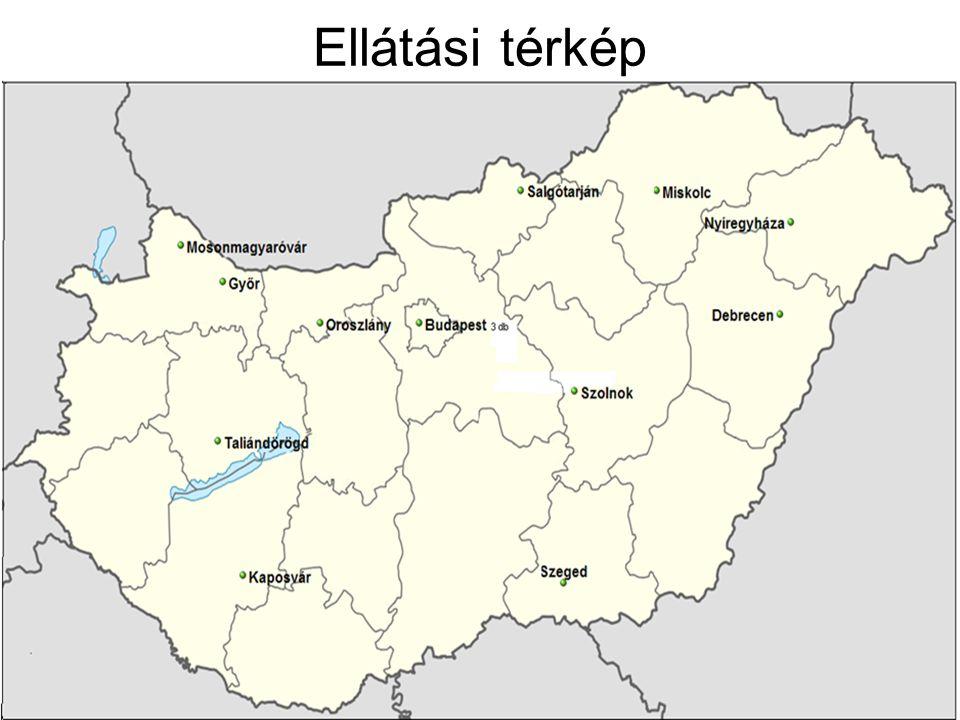 Ellátási térkép