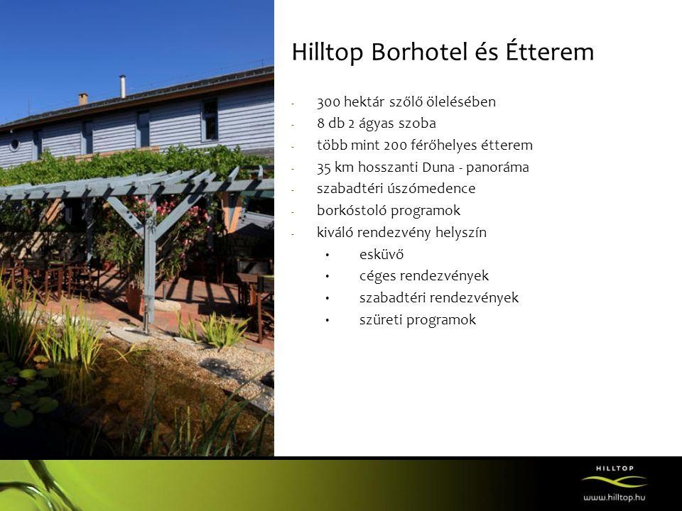 Hilltop Borhotel és Étterem