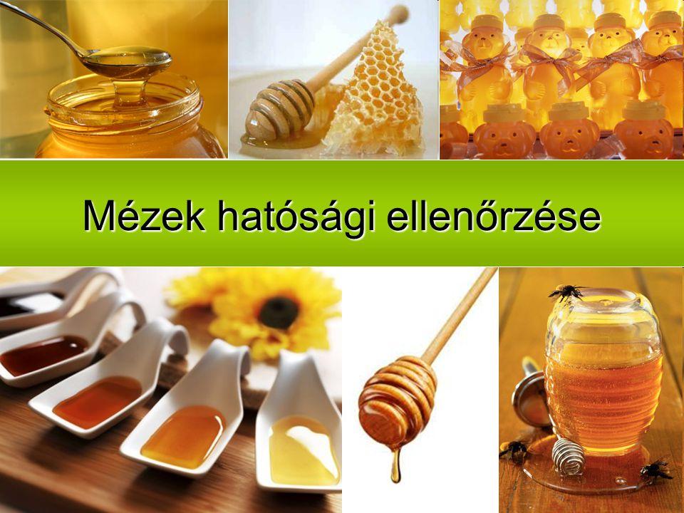 Mézek hatósági ellenőrzése