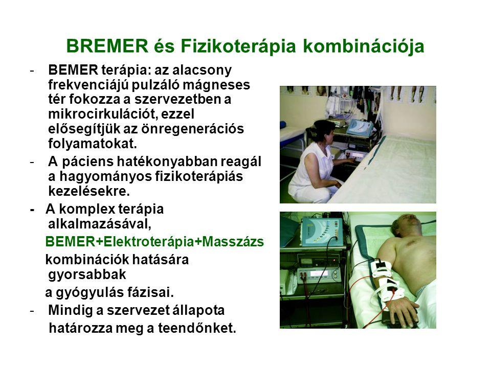 BREMER és Fizikoterápia kombinációja