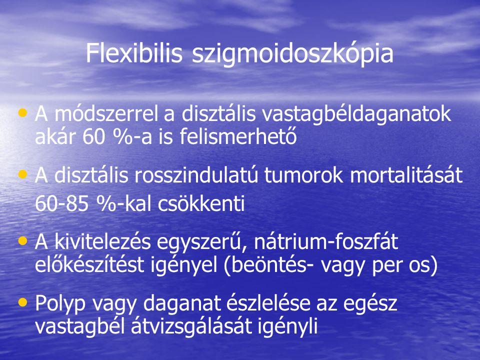 Flexibilis szigmoidoszkópia
