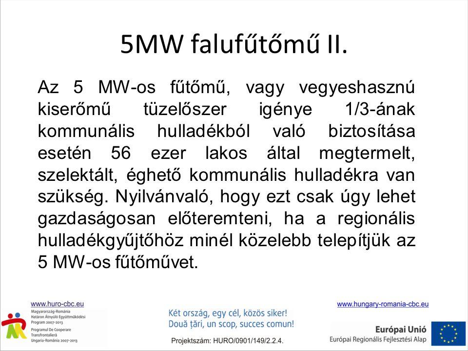 5MW falufűtőmű II.