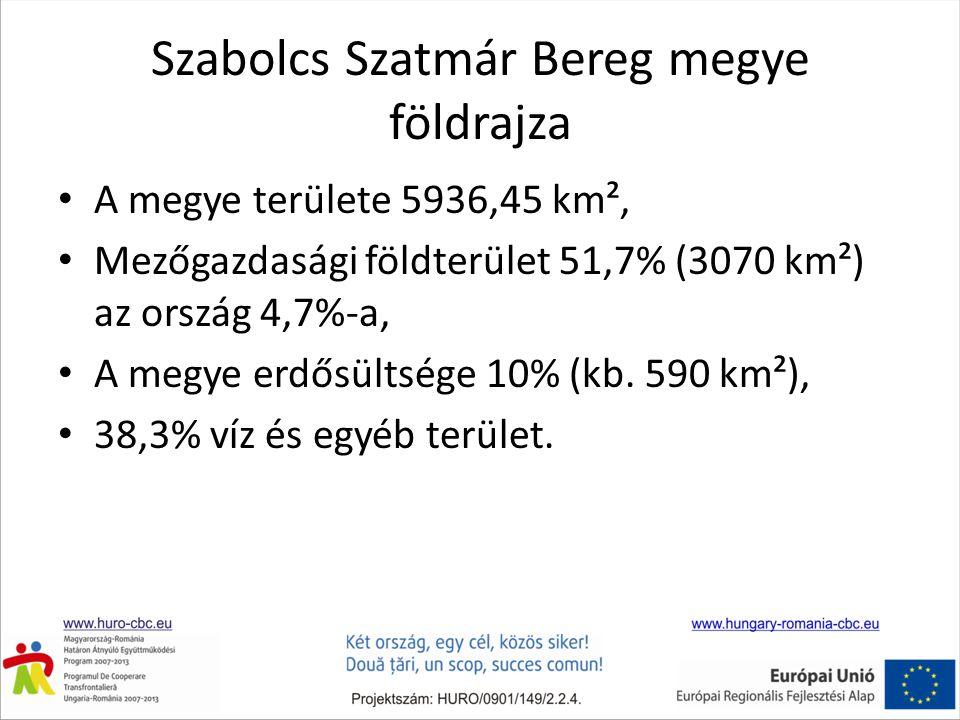 Szabolcs Szatmár Bereg megye földrajza