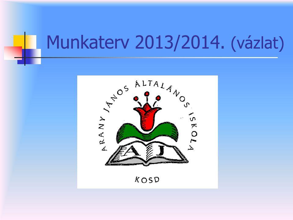 Munkaterv 2013/2014. (vázlat)