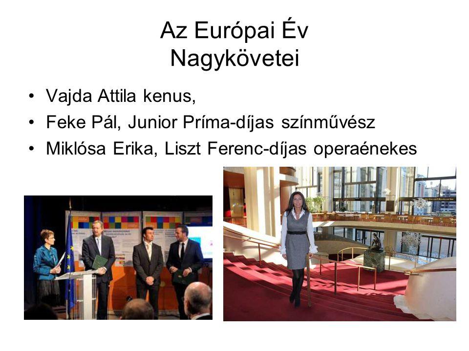Az Európai Év Nagykövetei