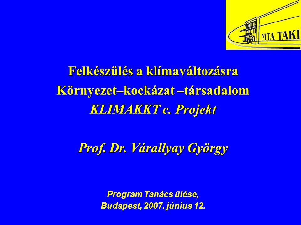 Prof. Dr. Várallyay György