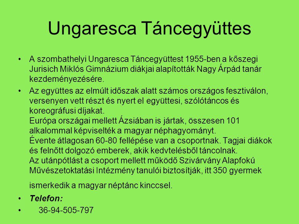 Ungaresca Táncegyüttes