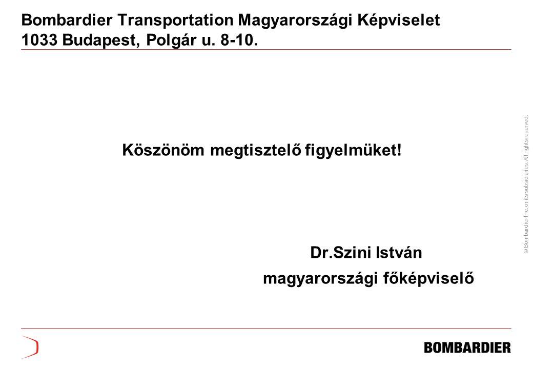 Köszönöm megtisztelő figyelmüket! magyarországi főképviselő