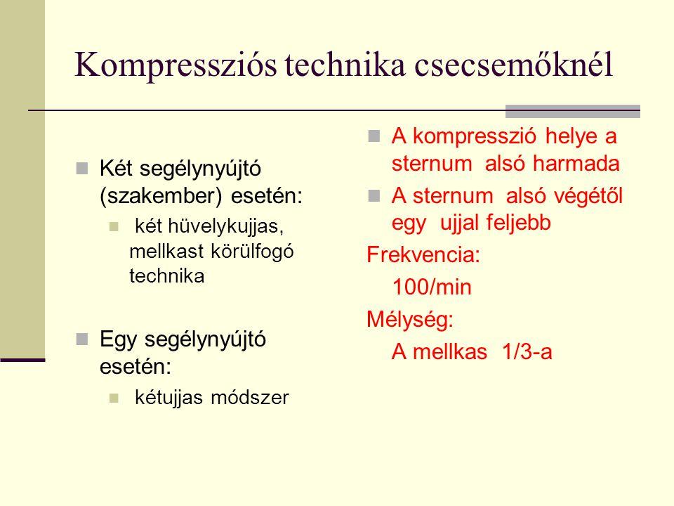 Kompressziós technika csecsemőknél