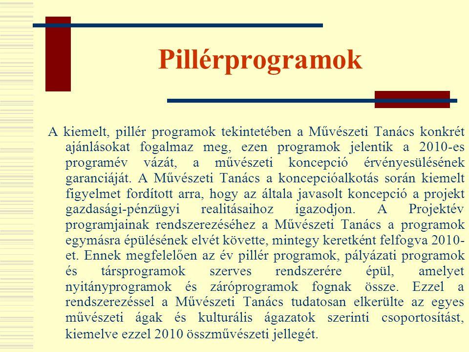 Pillérprogramok