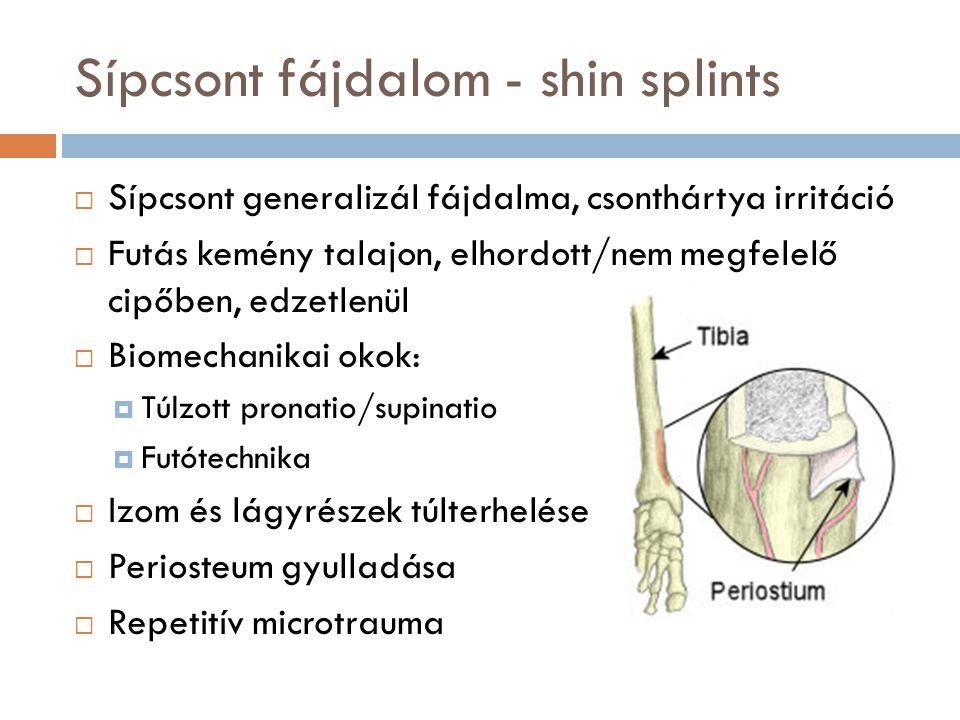 Sípcsont fájdalom - shin splints