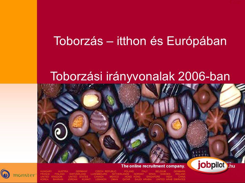 Toborzás – itthon és Európában Toborzási irányvonalak 2006-ban