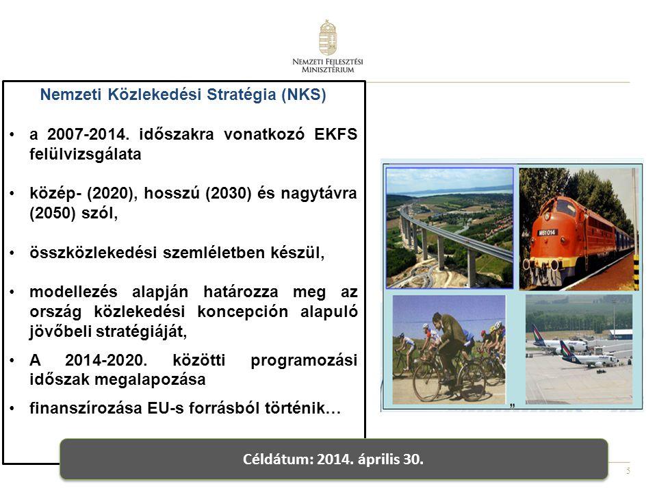 Nemzeti Közlekedési Stratégia (NKS)