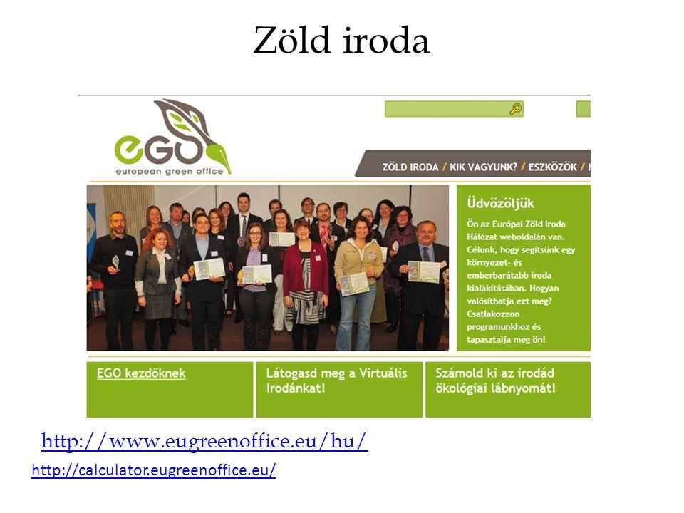 Zöld iroda http://www.eugreenoffice.eu/hu/