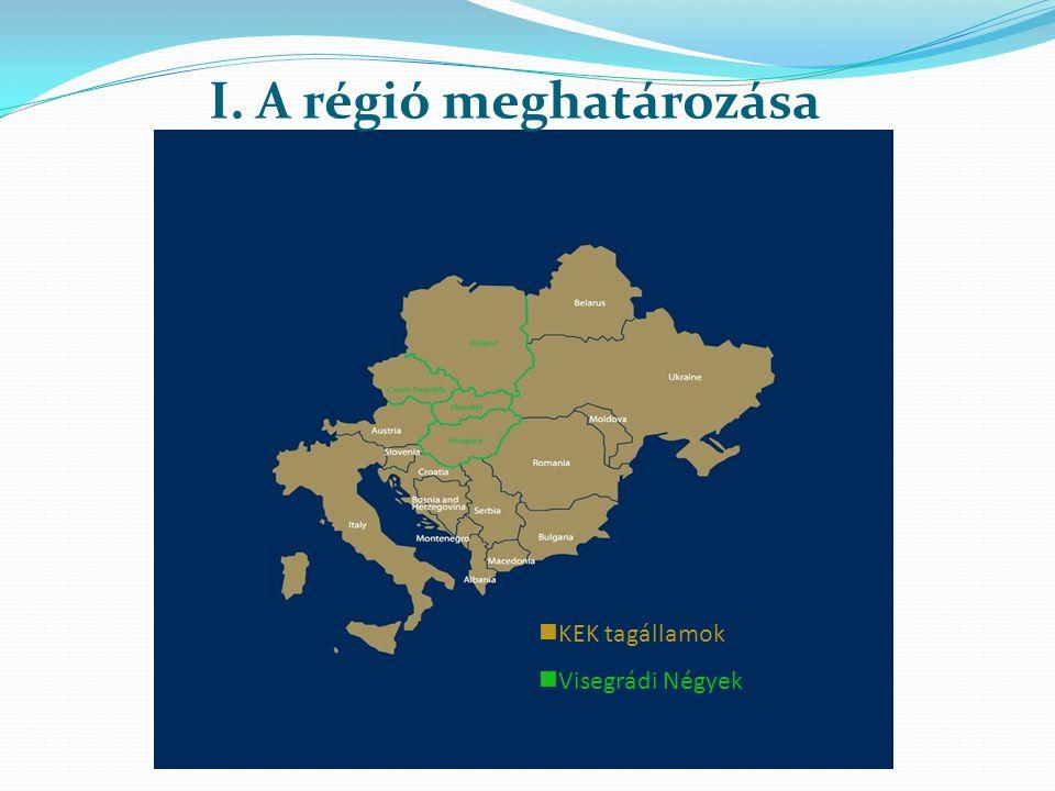 I. A régió meghatározása