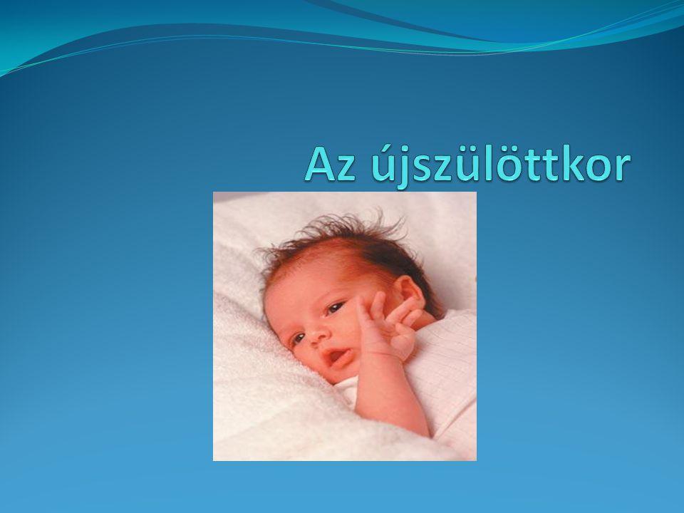 Az újszülöttkor
