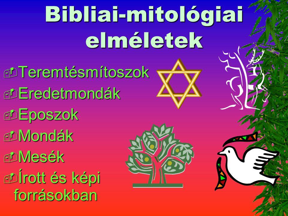 Bibliai-mitológiai elméletek