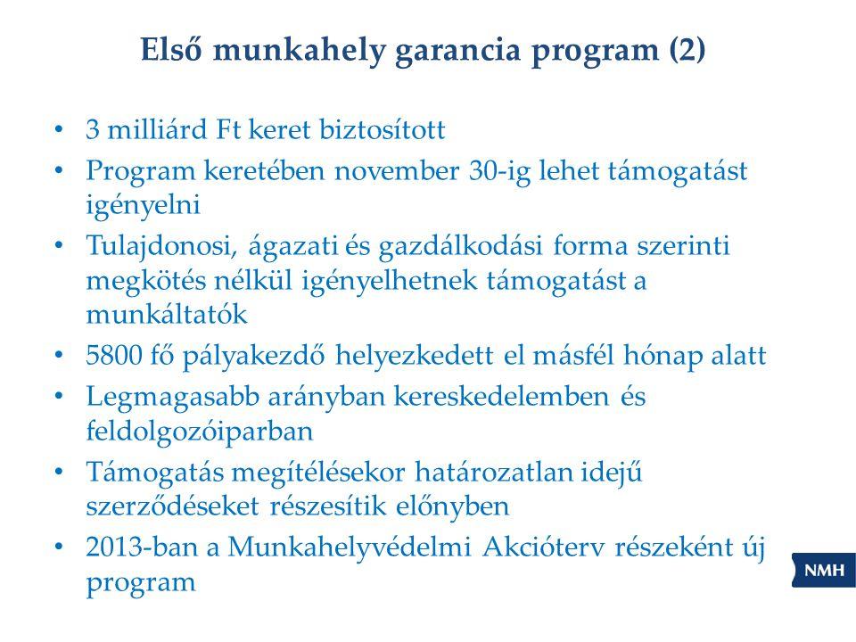 Első munkahely garancia program (2)