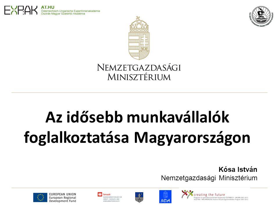 Az idősebb munkavállalók foglalkoztatása Magyarországon