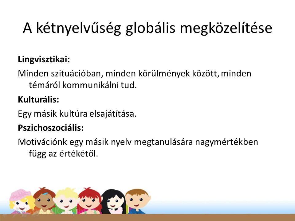 A kétnyelvűség globális megközelítése