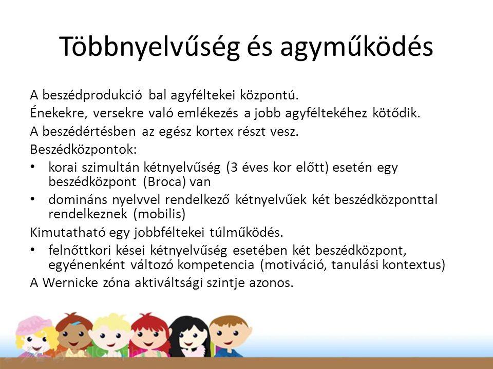 Többnyelvűség és agyműködés