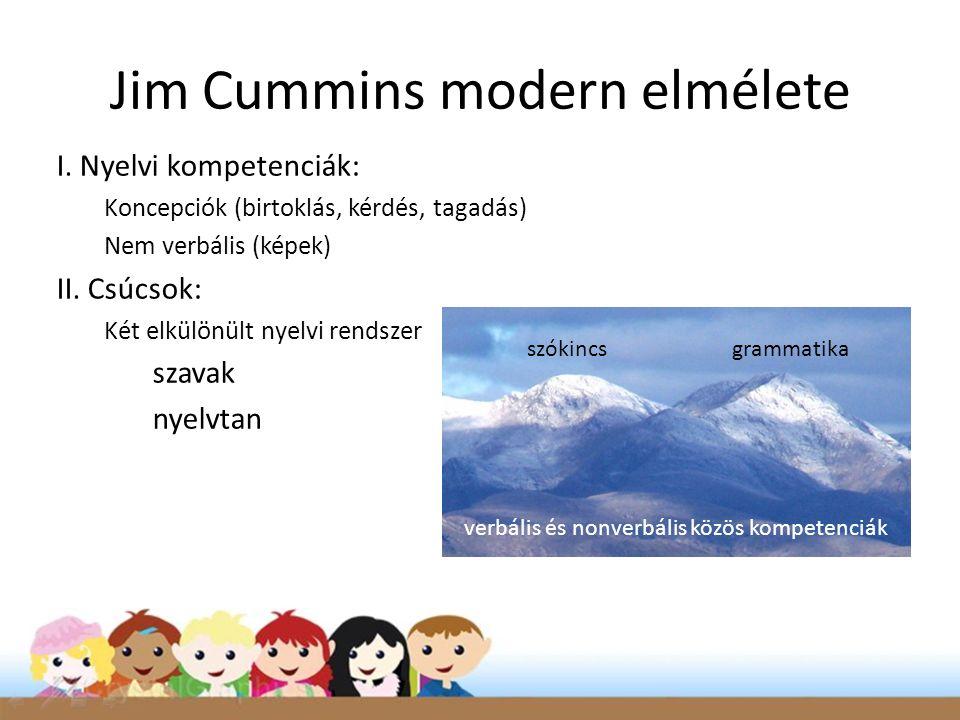 Jim Cummins modern elmélete