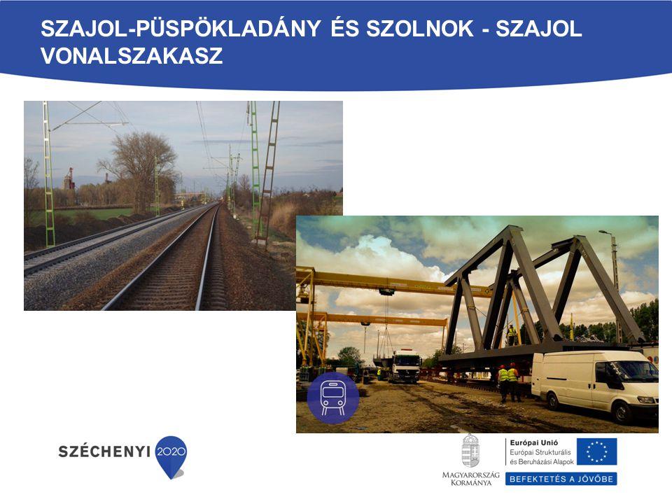 Szajol-Püspökladány és Szolnok - Szajol vonalszakasz