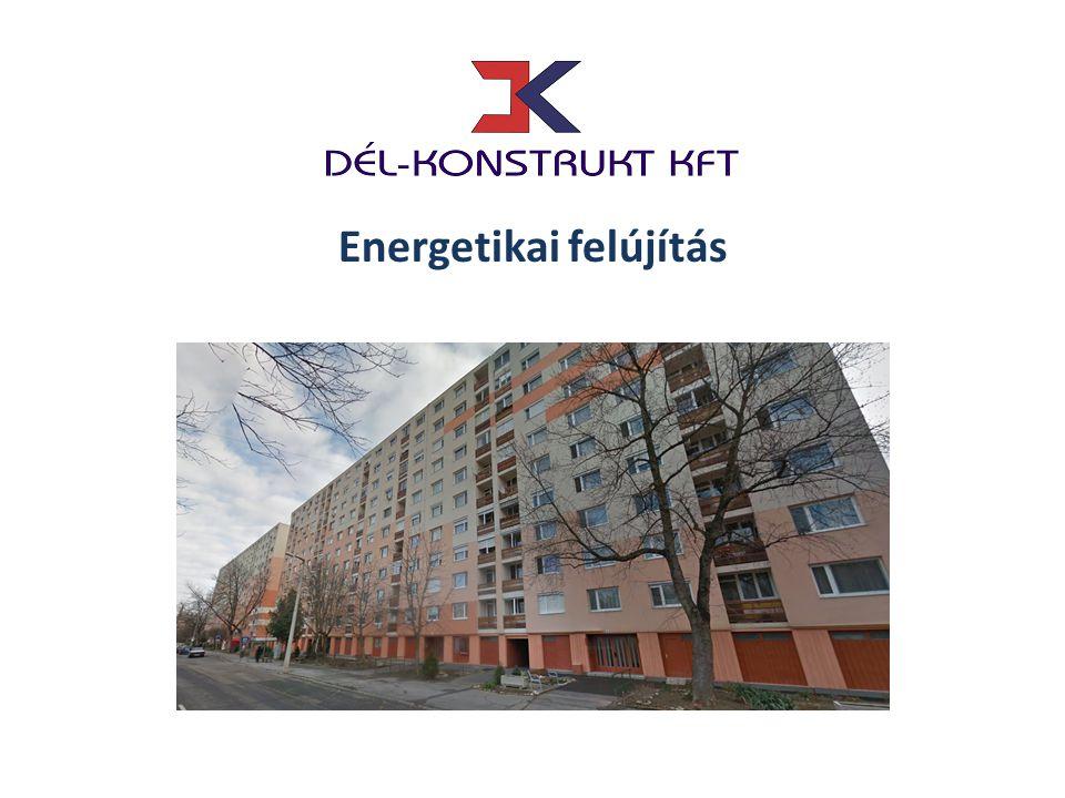 Energetikai felújítás