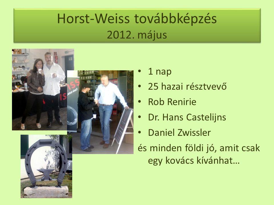 Horst-Weiss továbbképzés 2012. május