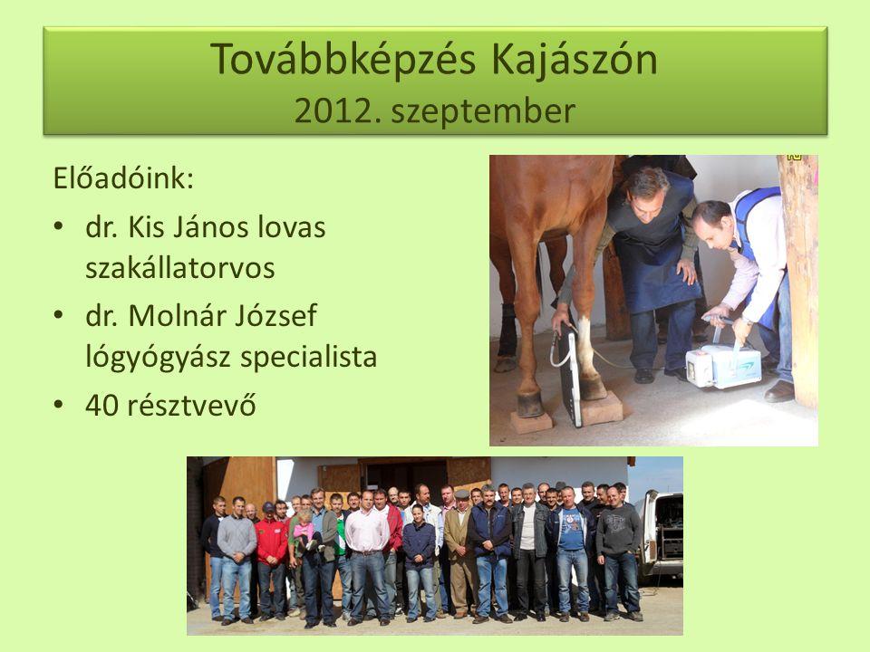 Továbbképzés Kajászón 2012. szeptember