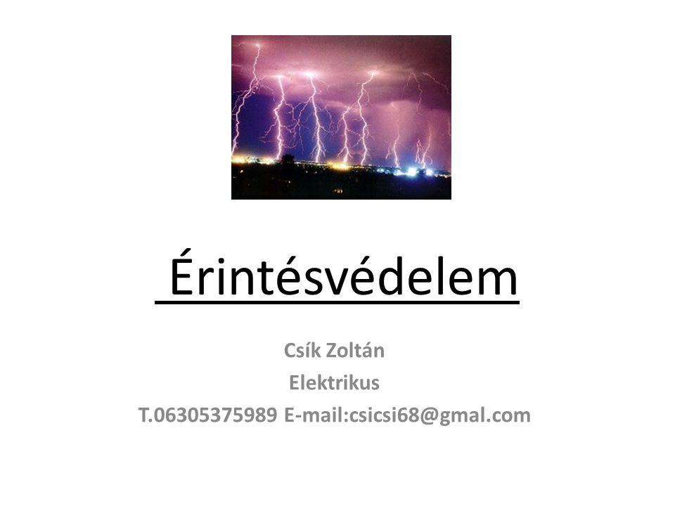 Csík Zoltán Elektrikus T.06305375989 E-mail:csicsi68@gmal.com