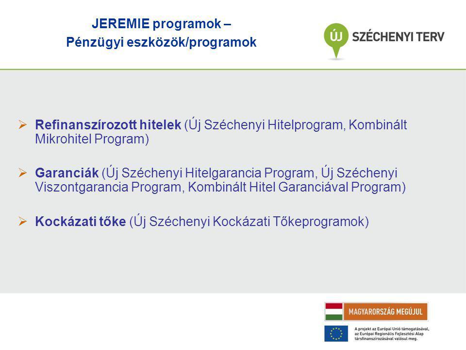 Pénzügyi eszközök/programok